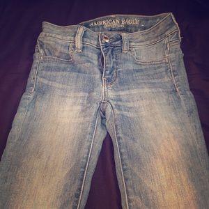 AE super skinny jeans